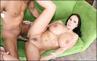 Gianna Michaels gets her pussy filled with big black cock