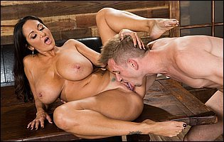 Busty business woman Ava Addams loves big cock in her tight cunt